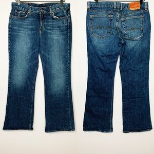 LUCKY BRAND Sweet'n Low Medium Wash Bootcut Jeans